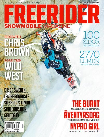 Freerider Snowmobile Magazine #08