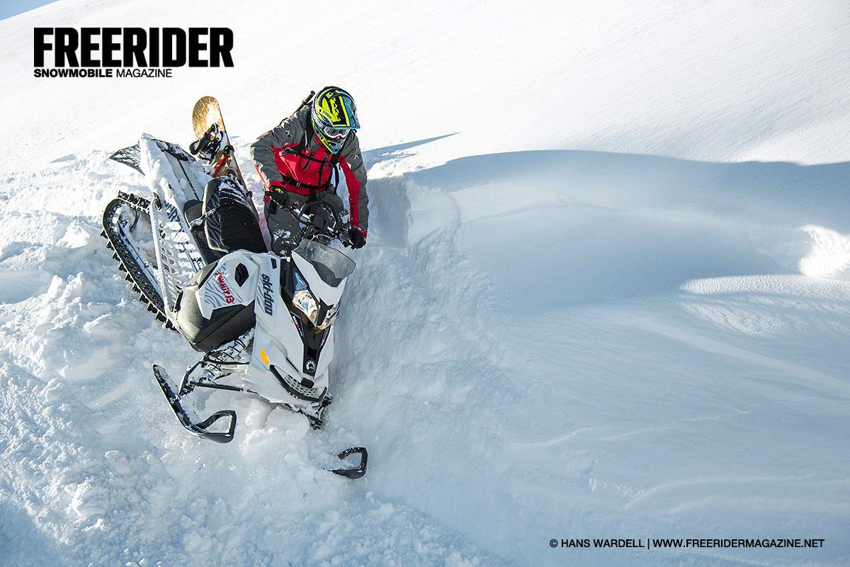 Ski-Doo Summit Burton - Freerider Snowmobile Magazine